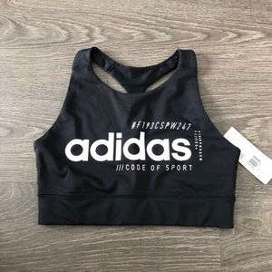 Adidas sports bra size small